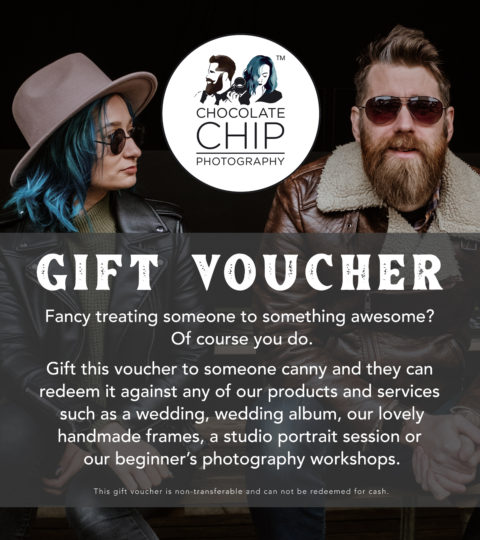 Choc Chip Gift Voucher
