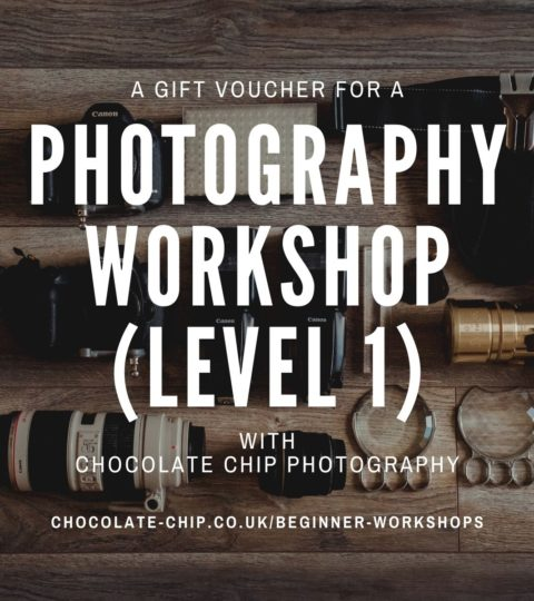 Beginner Photography Workshop Voucher – Level ONE